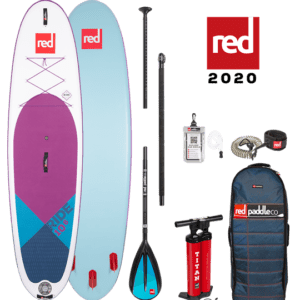 SE ride red paddle sup paddle board