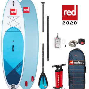 Ride red paddle sup paddle board