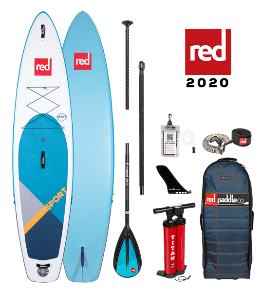 12'6'' SPORT Red Paddle 2020 SUP Package