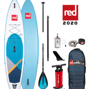 sport red paddle sup paddle board
