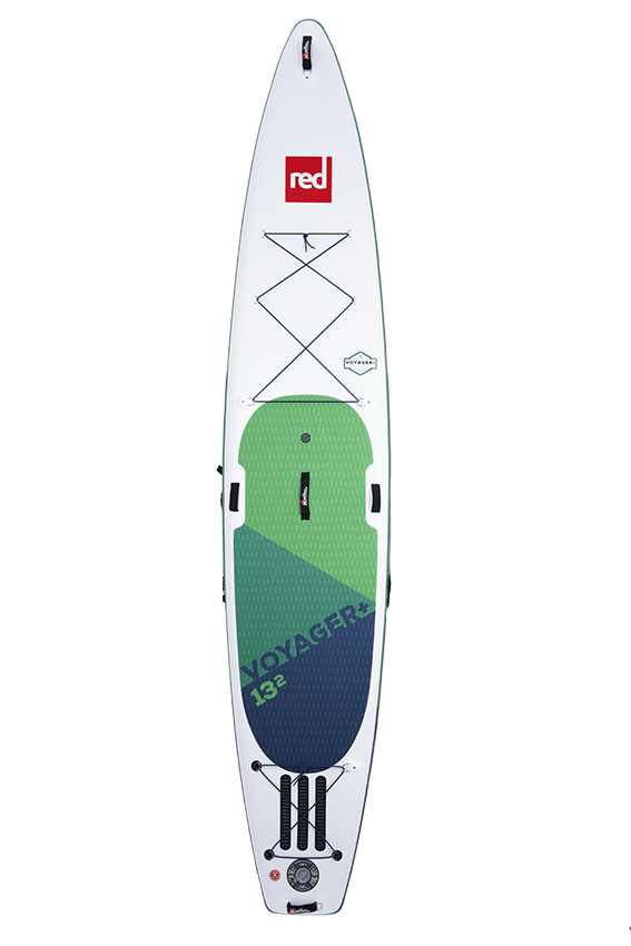 voyager red paddle sup paddle board top