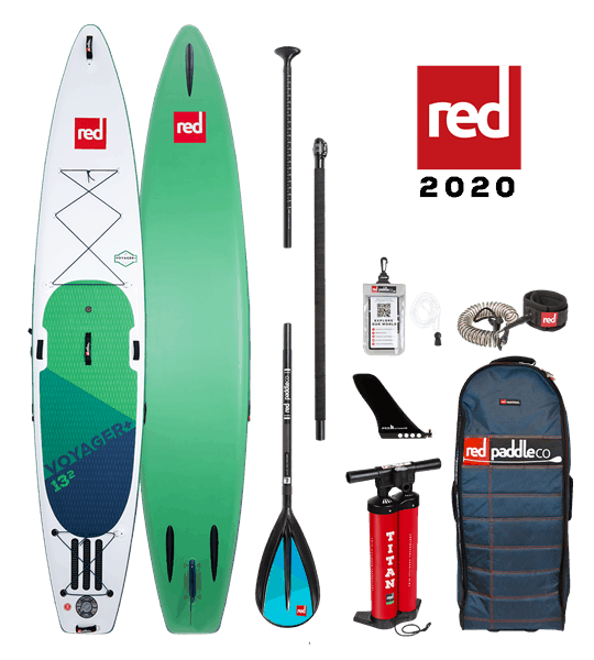 13'2'' VOYAGER Red Paddle 2020 SUP Package