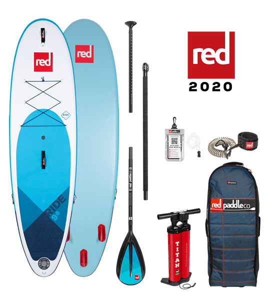 9'8'' RIDE Red Paddle 2020 SUP Package