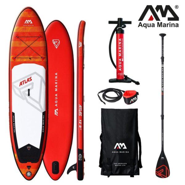12'0'' x 33'' ATLAS Aqua Marina 2020 SUP Paddle Board