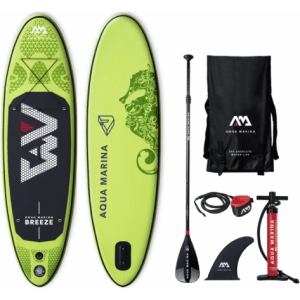 aqua marina breeze sup paddle board package