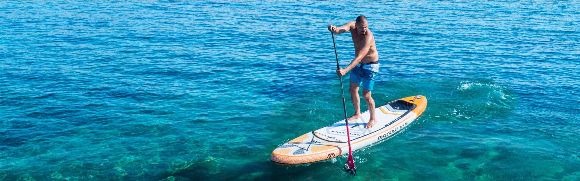 aqua marina magma sup paddle board