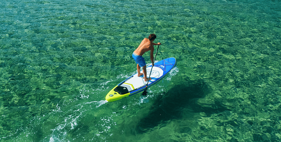 aqua marina beast sup paddle board