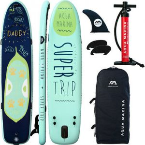 aqua marina super trip sup paddle board package