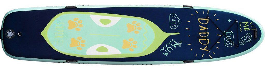 aqua marina super trip sup paddle board top landscape