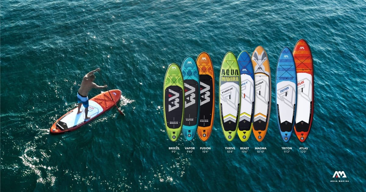 Aqua Marina 2019 Paddle Boards