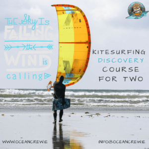 Gift Cert Kitesurfing Discovery Course for two