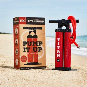 Red Paddle TITAN Pump Double Chamber