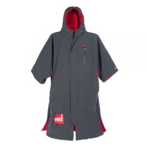 red paddle change jacket