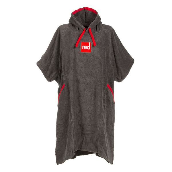 red paddle changing robe mens