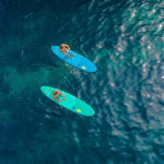 WAVE Plus Aquatone SUP Paddle Board top view