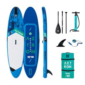 10'10 MERCURY Aztron Double Chamber SUP Paddle Board