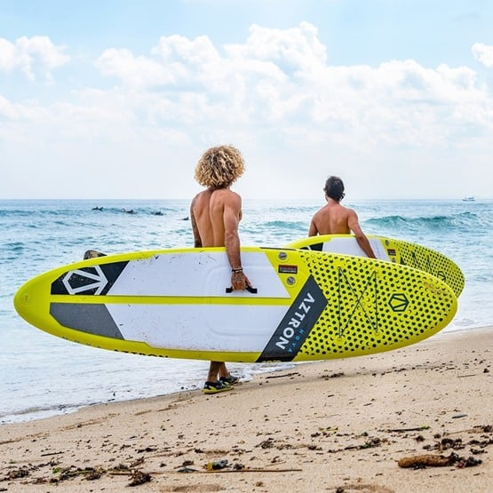 Aztron Nova SUP Paddle board beach