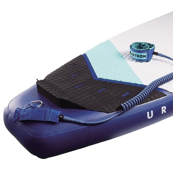 Aztron SUP Coil Leash ft on board