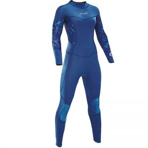 Aztron Womens Aurora full wetsuit front and back