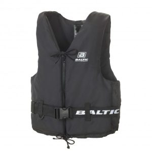 Baltic Aqua Pro Buoyancy Aid 50N - Black with zip