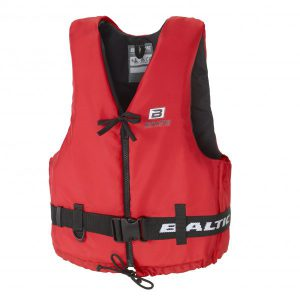 Baltic Aqua Pro Buoyancy Aid 50N - Red with zip
