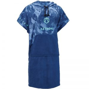 Aztron Changing Robe Poncho Blue