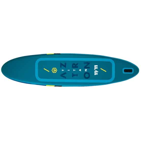 TITAN Aztron Double Chamber SUP Paddle Board bottom