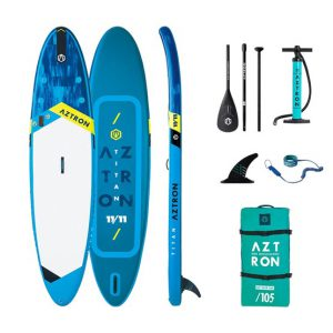 11'11 TITAN Aztron Double Chamber SUP Paddle Board