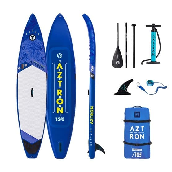 NEPTUNE Aztron Double Chamber SUP Paddle Board package