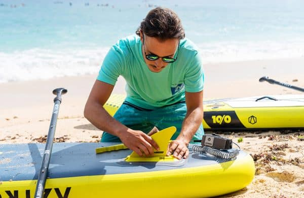 Aztron . Push In Fin for NOVA SUP lifestyle