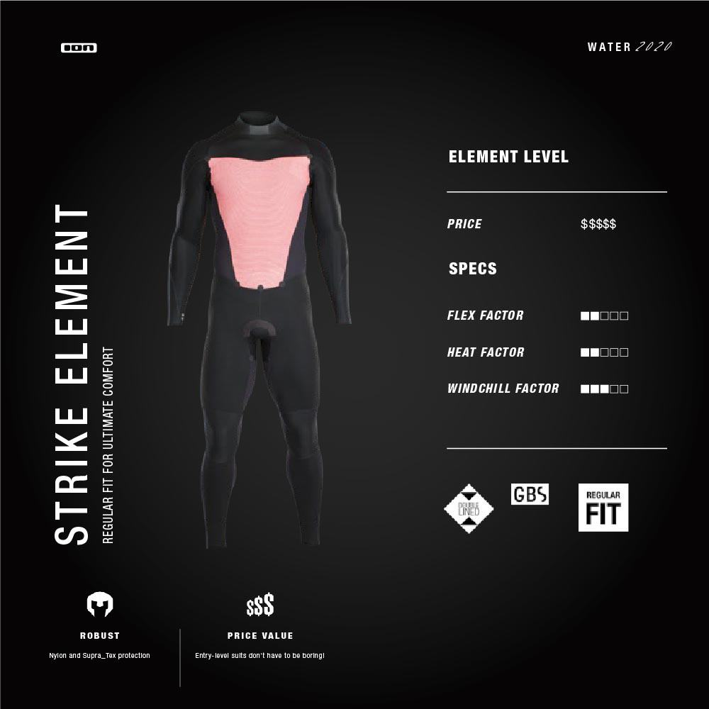 ION Wetsuit Spec Mens Strike Element