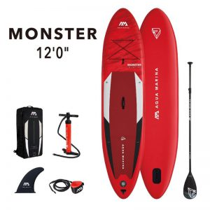 12'0'' x 33'' MONSTER Aqua Marina 2021 SUP Paddle Board