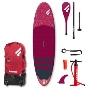 x FANATIC Diamond Air SUP Paddle Board