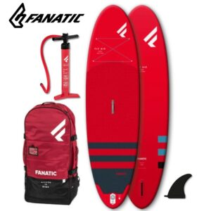 x FANATIC Fly Air RED SUP Paddle Board