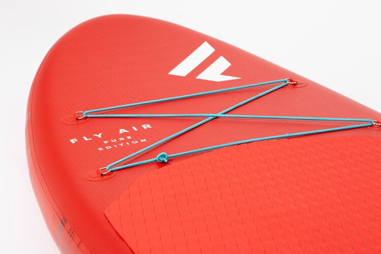x FANATIC Fly Air RED SUP Paddle Board deck net