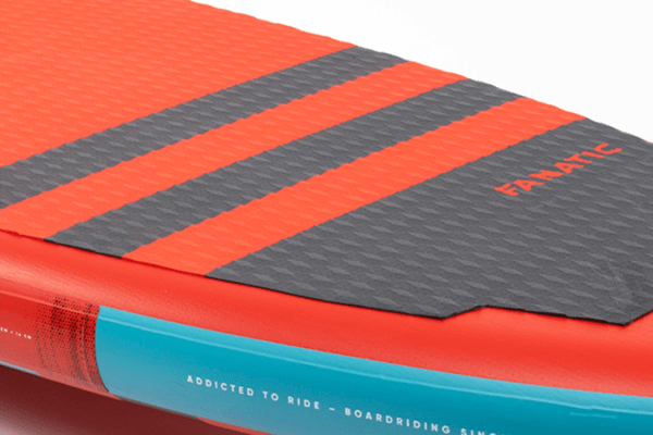 x FANATIC Fly Air RED SUP Paddle Board footpad