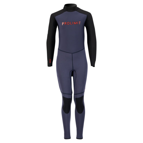 Prolimit Grommet Steamer 3-2 Youth Wetsuit Grey-Red